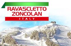Lyžování Itálie Ravascletto - Monte Zoncolan